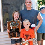 2013 Largest Crab Contest Winners Jeremy, Heather, Sydney and Cyrus Orwig of York, PA