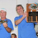2015 Largest Crab Contest Winners Shawn Bulifant and Bob Ward of Cape May Courthouse, NJ.