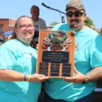 2017 Largest Crab Contest Winners Phil and Michele DiPietro of Norristown, PA